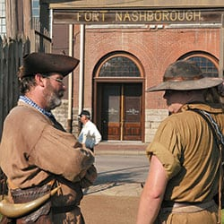 Nashville was first known as Fort Nashborough.