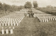 "Confederate soldiers killed in the Battle of Franklin were buried on a two-acre plot of land at the Carnton Plantation donated by the McGavock family. ""Widow of the South"" Carrie McGavock cared for the cemetery for the rest of her life."
