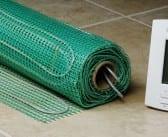 In-floor electric heating options