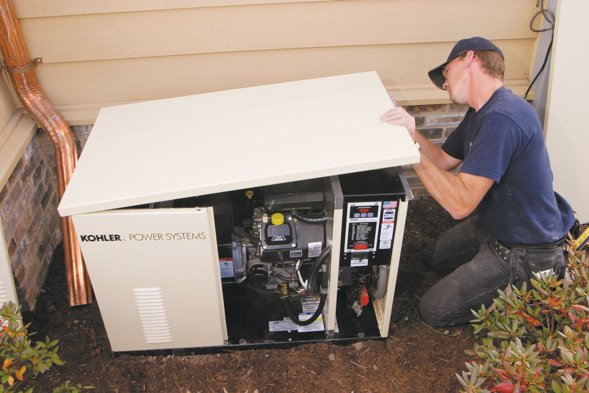 What You Need To Know About Backup Generators The Tennessee Magazine Wiring Generator House Installation1