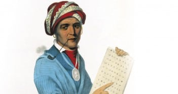 Sequoyah–a great man whose life is shrouded in mystery