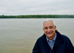 """Jerry Potter, Memphis historian, attorney and author of """"The Sultana Tragedy:America's Greatest Maritime Disaster,"""" believes he found the ship's wreckage buried in Arkansas farmland where the Mississippi River used to flow."""