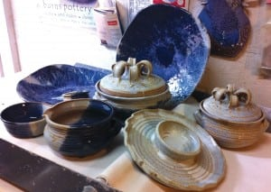 Pottery by Agnes Stark, whose West Tennessee studio is part of the Rural Route tour Friday-Sunday, Dec. 4-6.