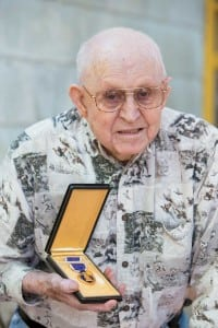 R. H. Pulliam and his Purple Heart