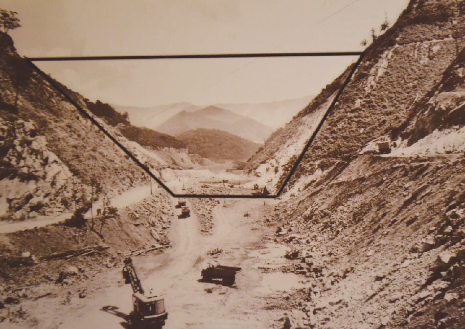 Scenes Of Flooded Town On Display At Butler Museum The