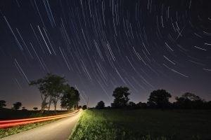 The Perseid Meteor Shower by Jodi Totten