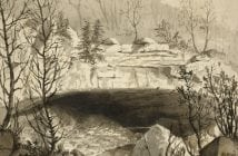 """""""Entrance to the Nickajack Cave"""" by J.T.E. Hillen"""