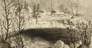 """Entrance to the Nickajack Cave"" by J.T.E. Hillen"