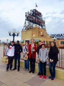 Students visit the Peabody Hotel during a trip to Memphis. Photographs courtesy of Jackie Smiley, MissTennKy Area Team chair.