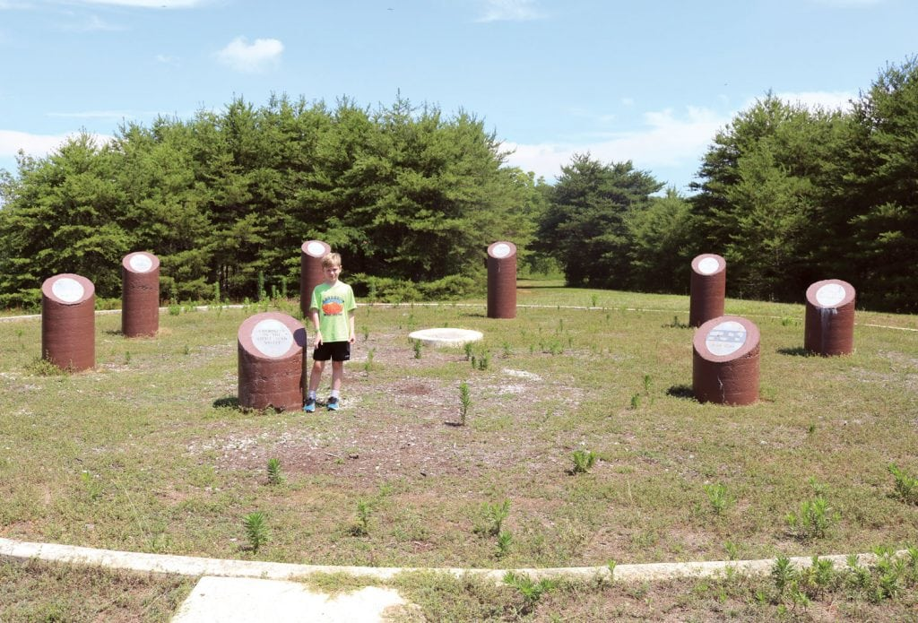 The Chota Memorial on Tellico Lake