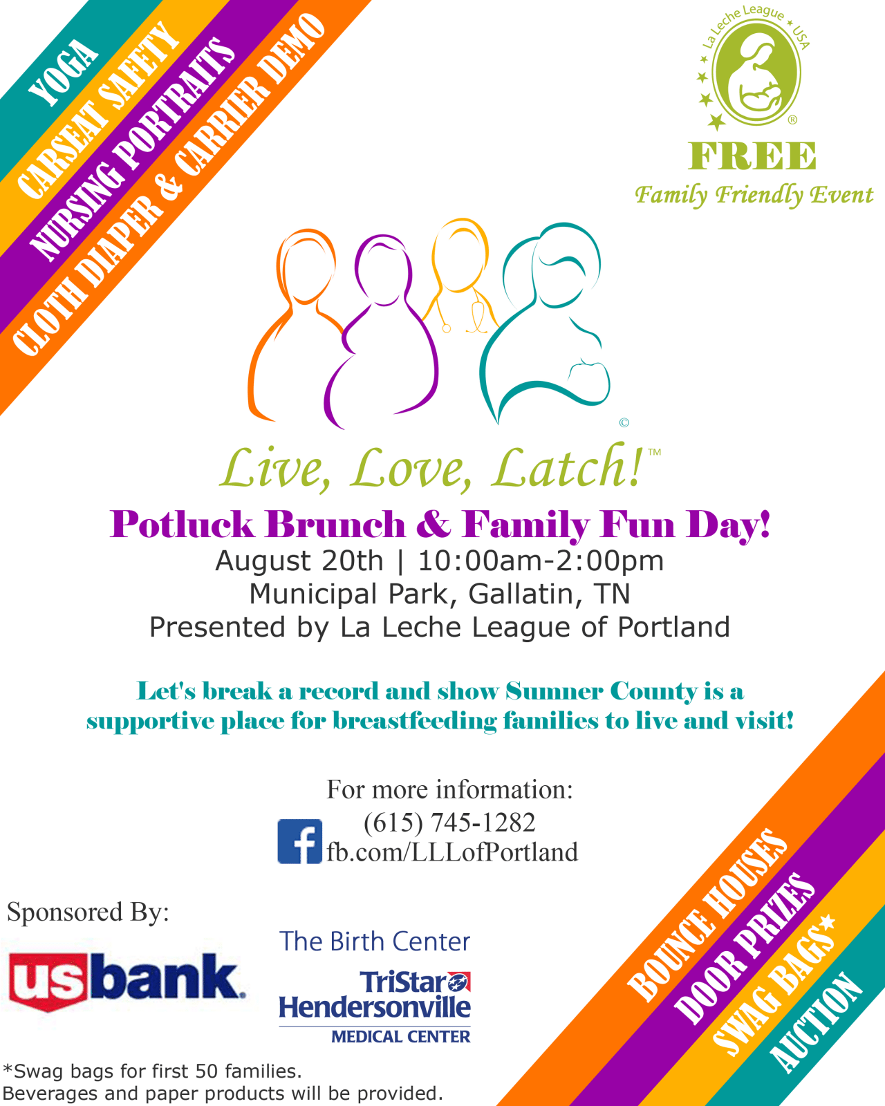 Tennessee sumner county portland - Potluck Brunch Family Fun Day Join Us For Fun Games And Community Building As We Celebrate National Breastfeeding Month Invite Friends And Family
