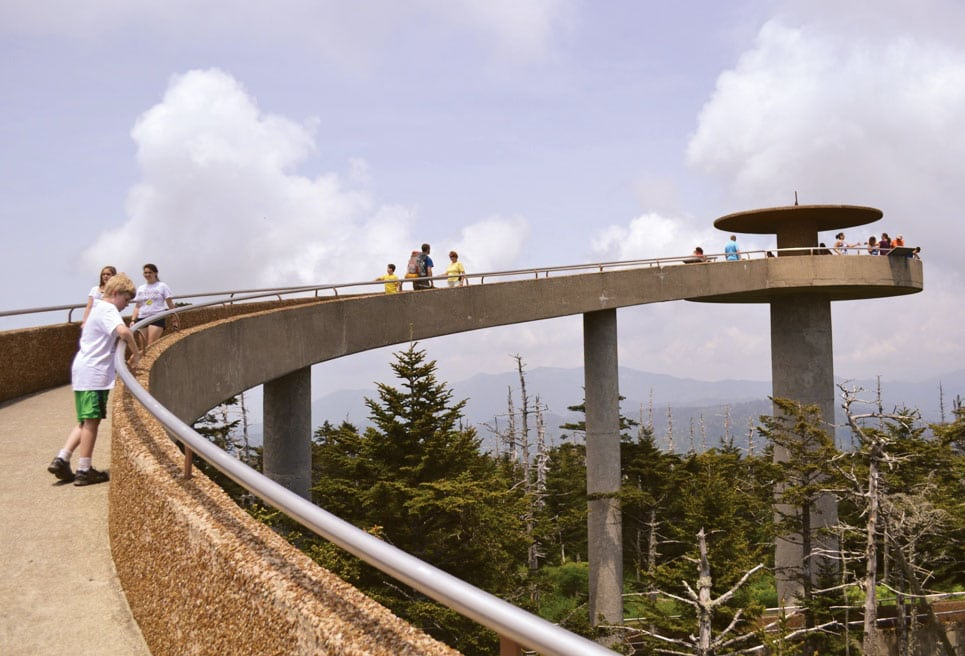 Clingmans Dome tower to get a facelift as it nears 60th ...