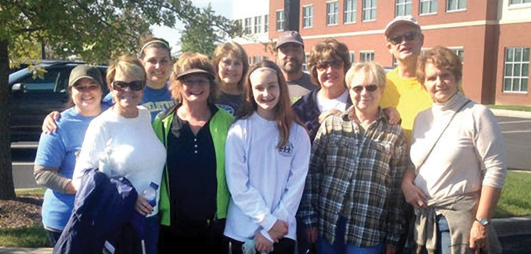 Friends and members of the Bedford Cancer Foundation participate in year-round activities to raise money and awareness. This group helped in a cleanup of U.S. 231 as part of the Adopt-A-Highway program.