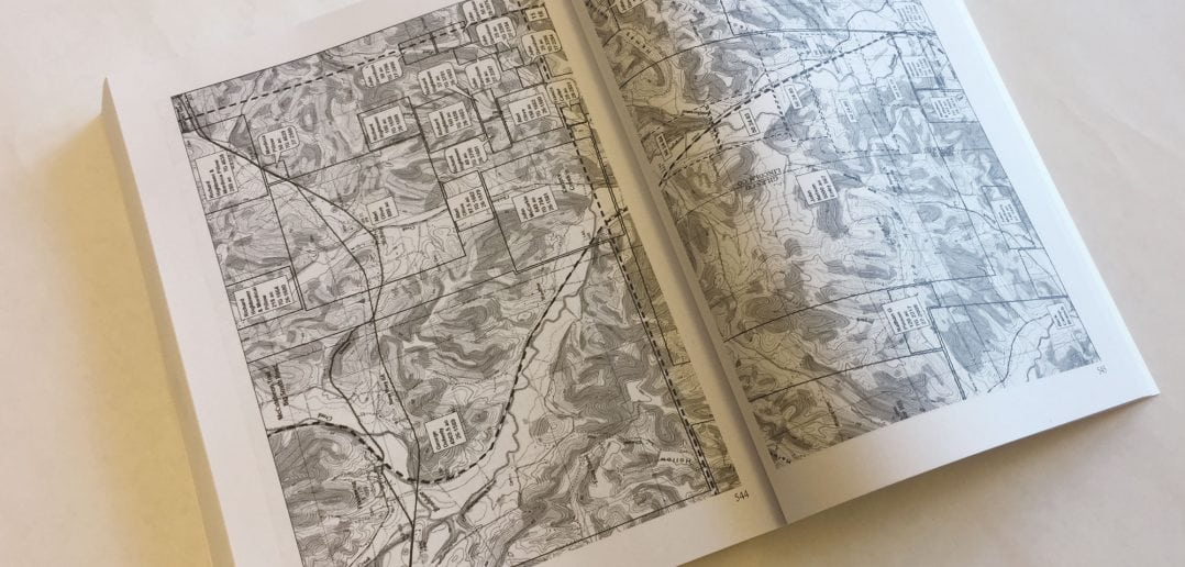 """Land Grants on the Elk River in Tennessee"" boasts more than 650 pages of information and topographical maps, a departure from the previous historical atlases compiled by author Jack Masters."