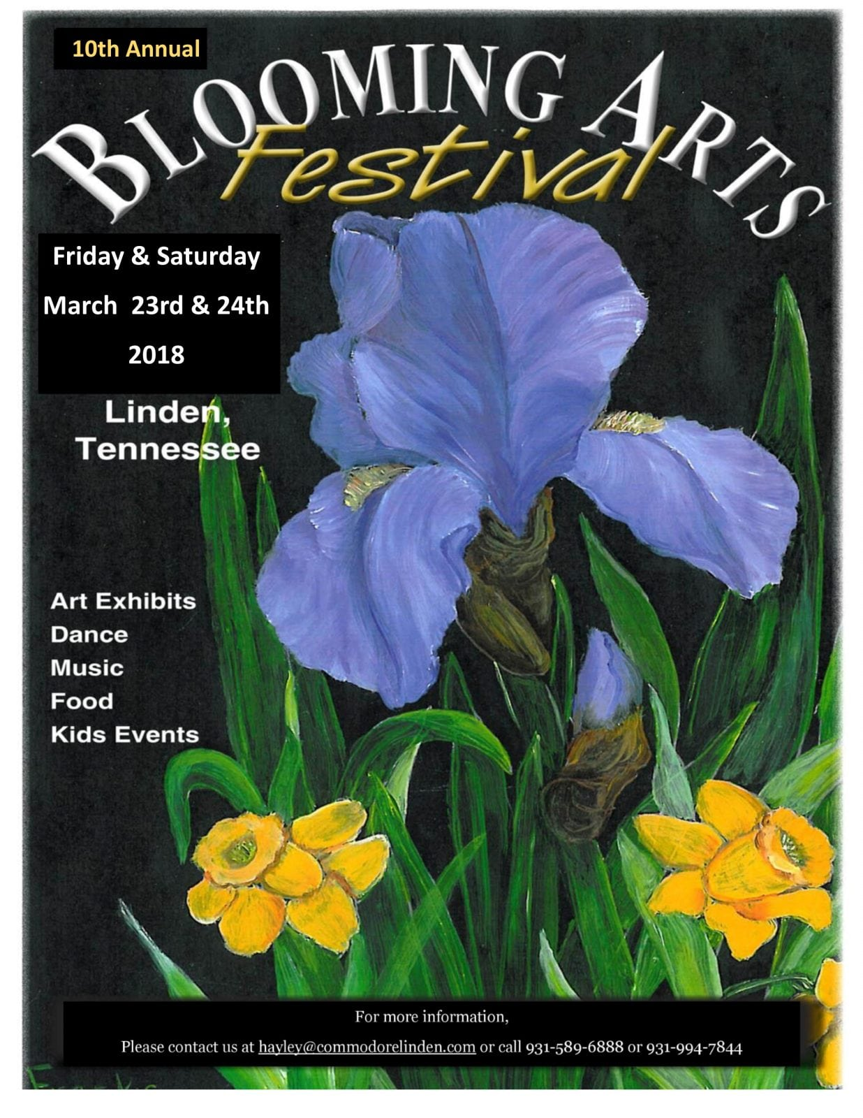 10th Annual Blooming Arts Festival - The Tennessee Magazine