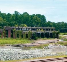 Bruceton's vacant roundhouse is aging reminder of railroad days